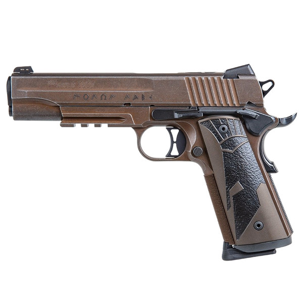 SIG SAUER 1911 Spartan II Full-Size 45 ACP 5in 8rd Distressed Coyote Pistol (1911R-45-SPARTANII)