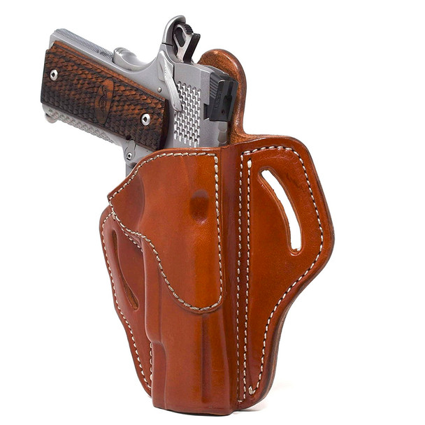 1791 GUNLEATHER BH1 Classic Brown RH One size Holster (BH1-CBR-R)