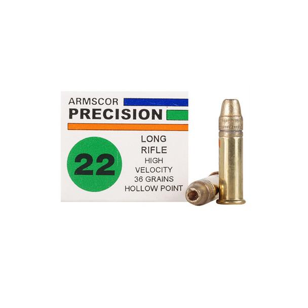 ARMSCOR HVHP 22LR 36 Grain Ammo, 50 Round Box (50015)