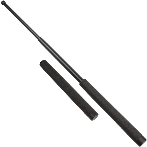 ASP Friction Loc F26Bf Black Chrome Foam Baton (52611)