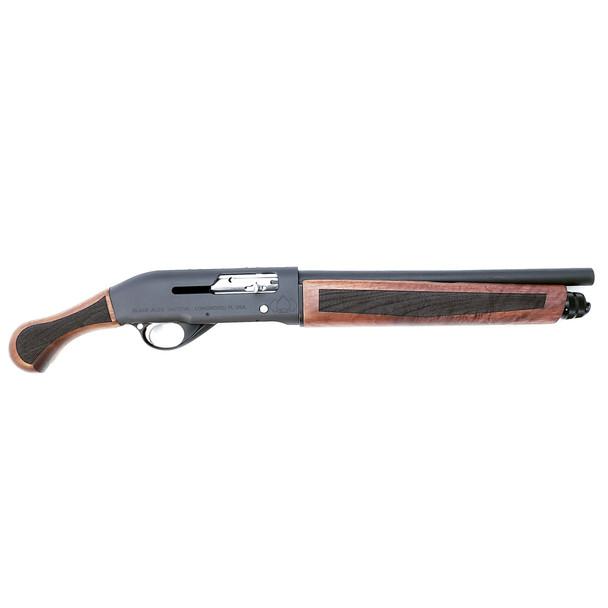 BLACK ACES TACTICAL Pro Series S Semi Auto 12Ga 14in Barrel 4rd No NFA No AOW Walnut Shotgun (PSSWD)
