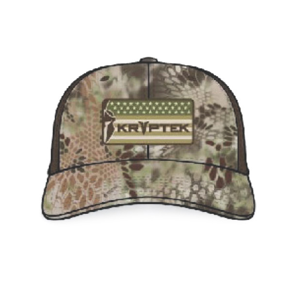 KRYPTEK American Warrior Highlander/Brown Hat (19AMERHHB)