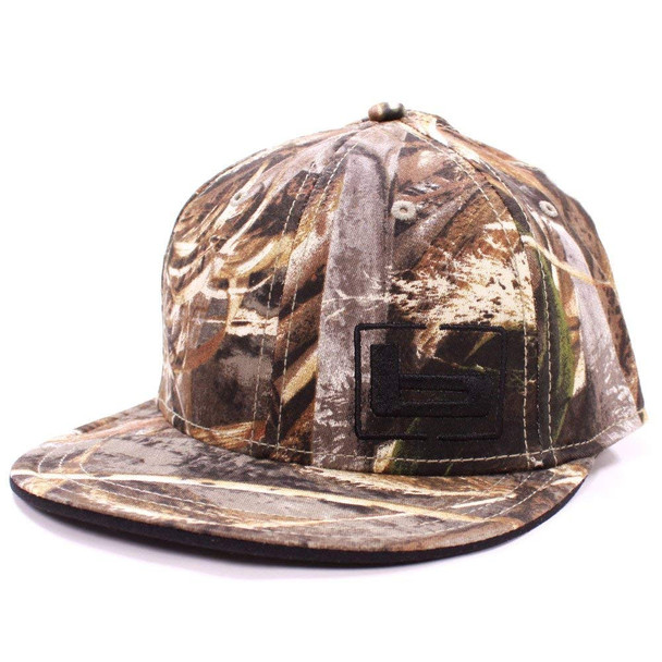 BANDED Fitted Flat Bill Realtree MAX-5 Cap (3501)