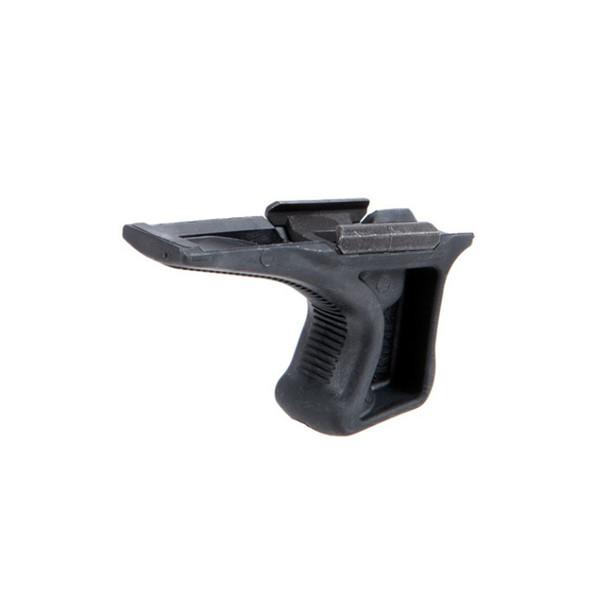 BRAVO COMPANY Picatinny Kinesthetic Black Angled Grip (BCM-KAG-1913-BLK)