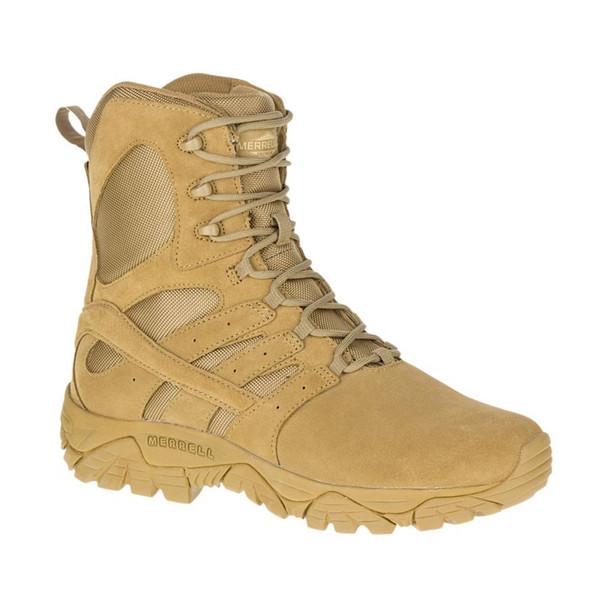 MERRELL Mens Moab 2 8in Tactical Defense Coyote Boot (J17765)