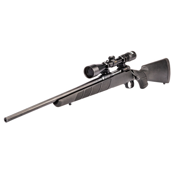 SAVAGE 11 Trophy Hunter XP Compact 7mm-08 Rem 20in 4rd LH Matte Black Rifle with Nikon 3-9x40 Scope (19712)