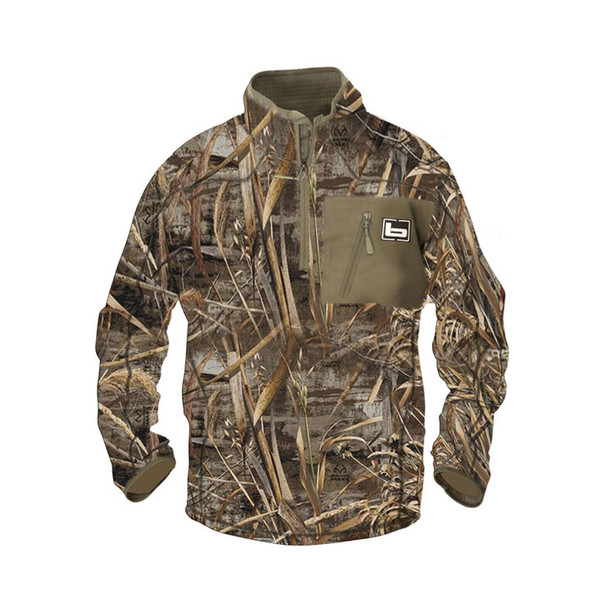 BANDED Mid Layer 1/4 Zip Realtree Max-5 Pullover (440-PAR)