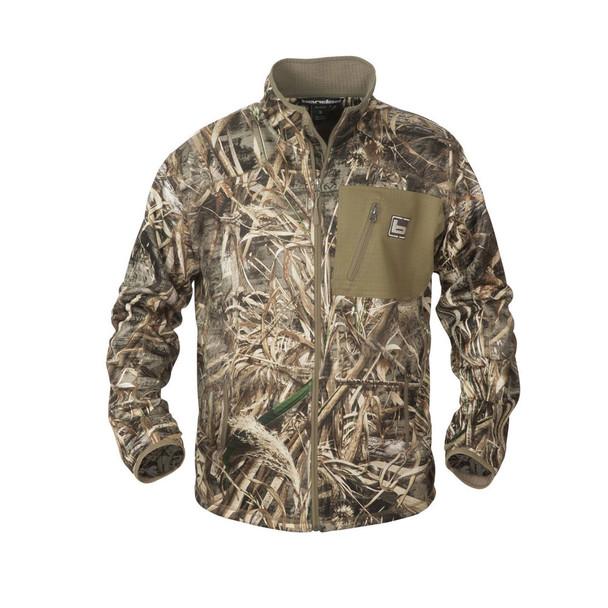 BANDED Mid Layer Full Zip Realtree Max-5 Fleece Jacket (B1010008-M5)