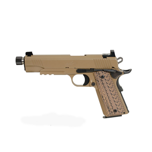 KIMBER 1911 Desert Warrior (TFS) .45 ACP 5.5in 7rd Desert Tan Semi-Automatic Pistol (3000237)
