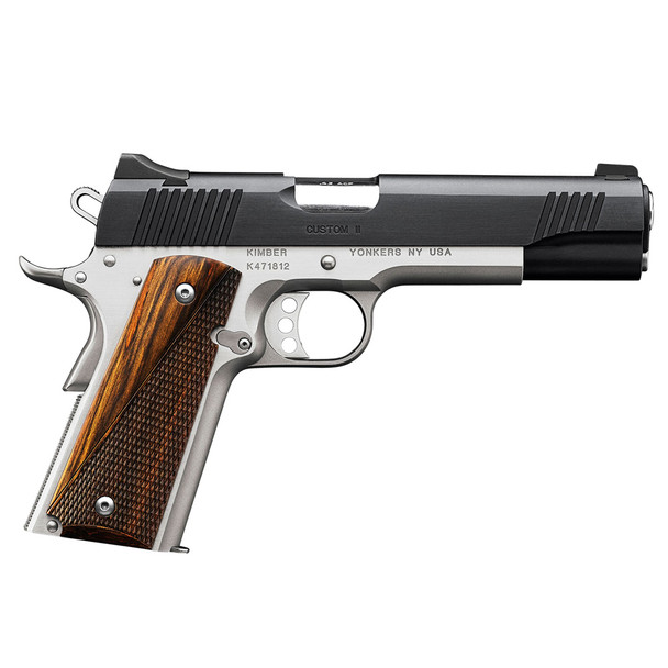 KIMBER Custom II 45 ACP Two-Tone Semi-Automatic Pistol (3200301)