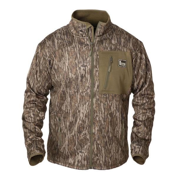 BANDED Mid Layer Full Zip Bottomland Fleece Jacket (B1010008-BL)