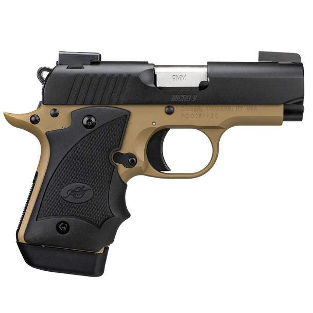 KIMBER Micro 9 Desert Night 9mm Pistol with TruGlo TFX Pro Sights (3300197)