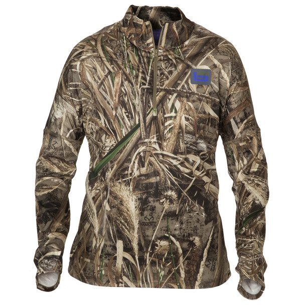 BANDED Women's TEC Stalker 1/4 Zip Realtree Max-5 Pullover (B2010001-M5)