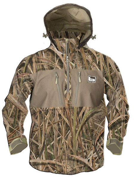 BANDED Waterproof 1/4 Zip Blades Hooded Pullover (B00496-PAR)