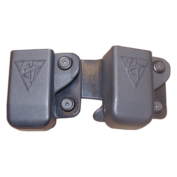 COMP-TAC Twin OWB Belt Clip Size11 Beretta 92/96/M9 and Sig P226 9/40 Magazine Pouch (C62311000LBKN)