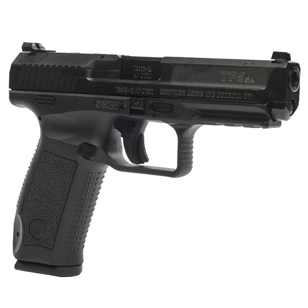 CANIK TP9SA Mod2 9mm 4.46in 18rd Black Pistol with Warren Sights (HG4863-N)