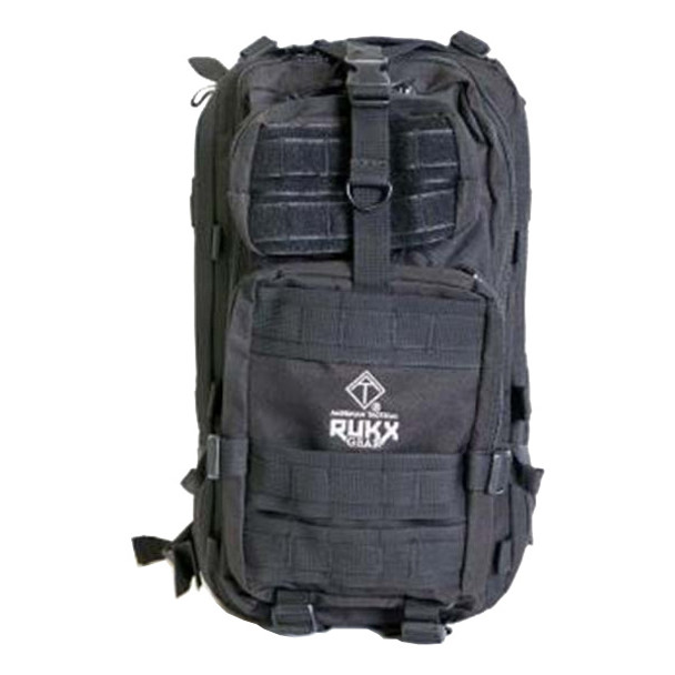 AMERICAN TACTICAL IMPORTS Rukx Gear Tactical 1 Day Black Backpack (ATICT1DB)