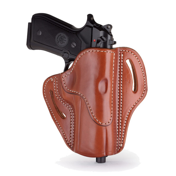 1791 GUNLEATHER BH2.4 Open Top RH Classic Brown Holster (BH2.4-CBR-R)