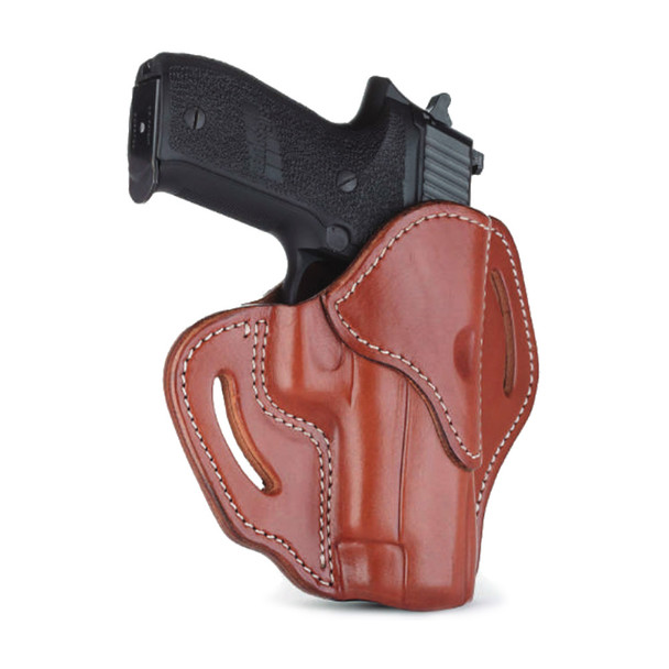 1791 GUNLEATHER BH2.4S Compact Open Top RH Classic Brown Holster (BH2.4S-CBR-R)