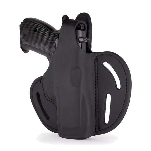 1791 GUNLEATHER BHX-5S Thumb Break Compact RH Size 5 Stealth Black Holster (BHX-5S-SBL-R)