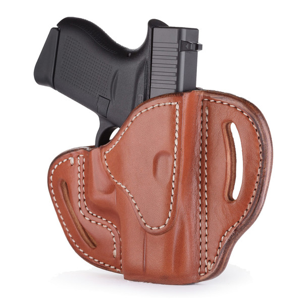 1791 GUNLEATHER BHC Compact Open Top RH Classic Brown Holster (BHC-CBR-R)