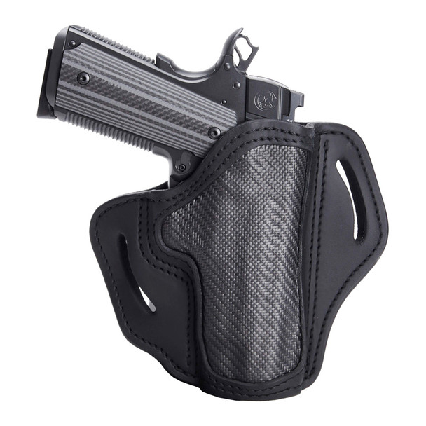 1791 GUNLEATHER CF-BH2.3 Carbon Fiber RH 1 Size Project Stealth Black Holster (CF-BH2.3-SBL-R)