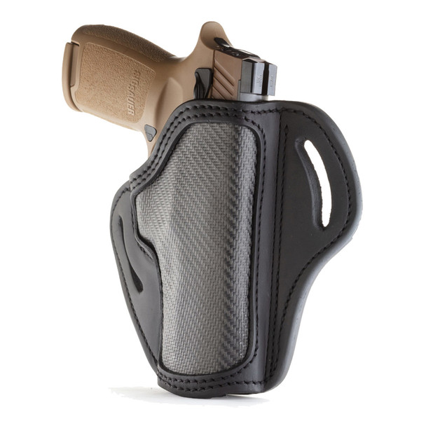 1791 GUNLEATHER CF-BH2.4 Carbon Fiber RH 1 Size Project Stealth Black Holster (CF-BH2.4-SBL-R)