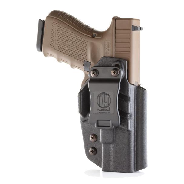 1791 GUNLEATHER Tactical IWB Kydex Glock RH Black Holster (TAC-IWB-GLOCK-BLK-R)