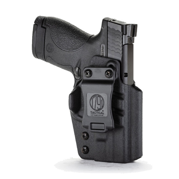 1791 GUNLEATHER Tactical IWB Kydex S&W Shield RH Black Holster (TAC-IWB-Shield-BLK-R)