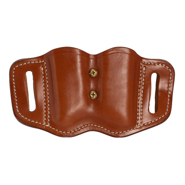 1791 GUNLEATHER MAG F 2.2 Double Stack Classic Brown Magazine Holster (MAG-F-2.2-CBR-A)