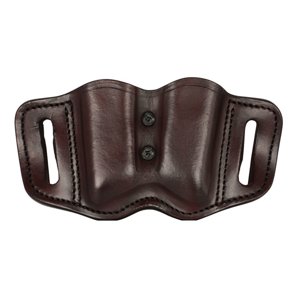 1791 GUNLEATHER MAG F 2.2 Double Stack Signature Brown Magazine Holster (MAG-F-2.2-SBR-A)