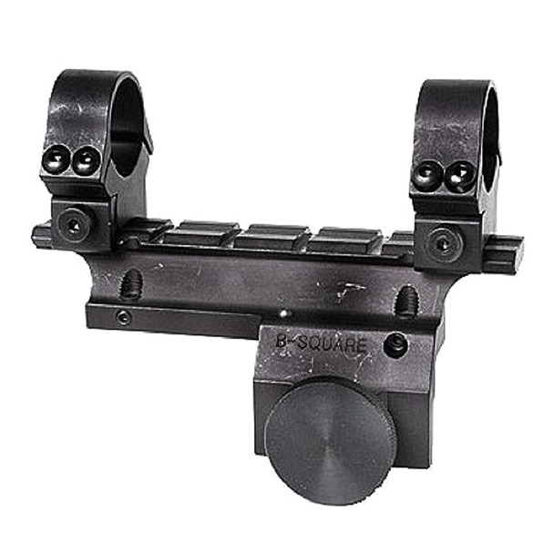 B-SQUARE Ruger Mini-14 1-Piece Matte Scope Mount with 1in Rings (14502)