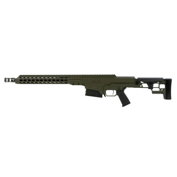 BARRETT MRAD 308 Win 17in Heavy 1:10 Twist OD Green Cerakote Rifle (14365)