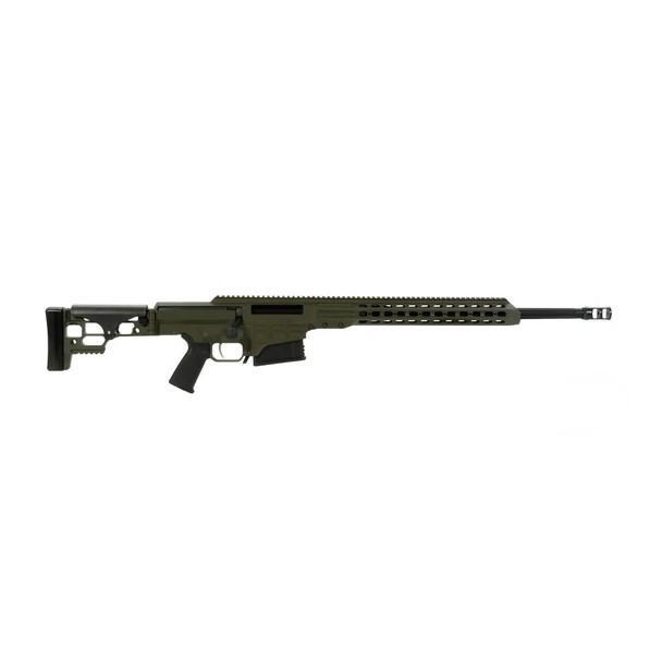 BARRETT MRAD 308 Win 22in Fluted 1:10 Twist OD Green Cerakote Rifle (14367)