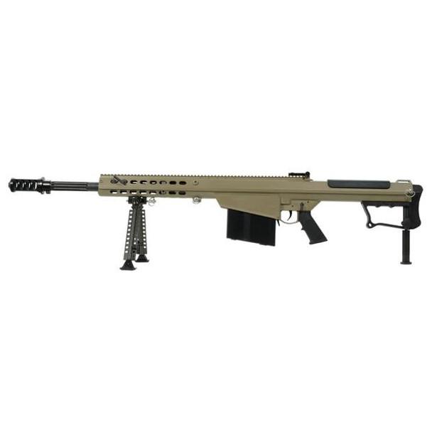 BARRETT M107A1 50 BMG 20in Black Fluted 1:15 Twist Flat Dark Earth Cerakote Rifle (14558)