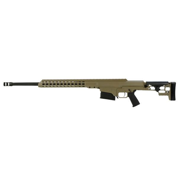 BARRETT MRAD 300 Win Magnum 24in Fluted 1:10 Twist Flat Dark Earth Cerakote Rifle (14390)