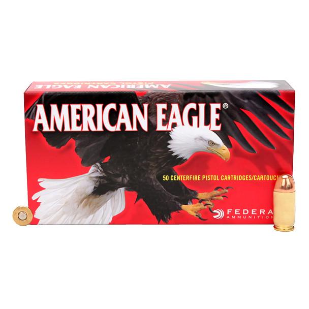 FEDERAL American Eagle 45 ACP 230 Grain FMJ Ammo, 50 Round Box (AE45A)