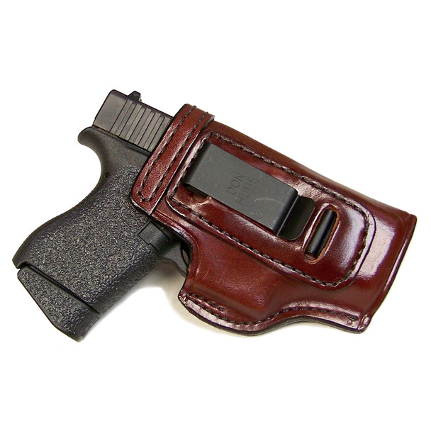 DON HUME Clip On H715-M Right Hand Springfield XD Compact Brown Holster (J168418R)