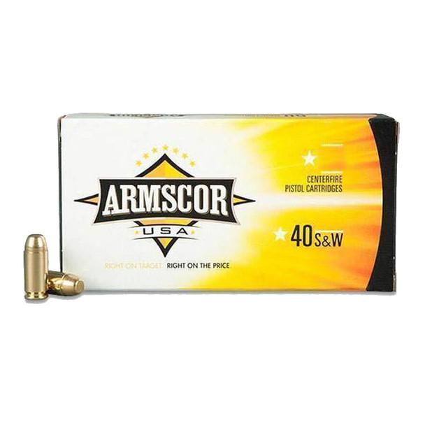 ARMSCOR .40 S&W 180Gr JHP 20rd Box Ammo (AC40-3N)