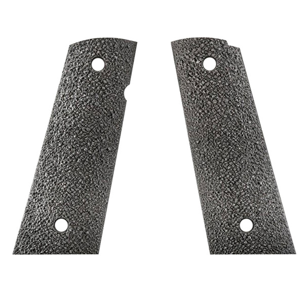 ERGO 1911 XTR Square Bottom Hard Rubber Black Grip (4510)