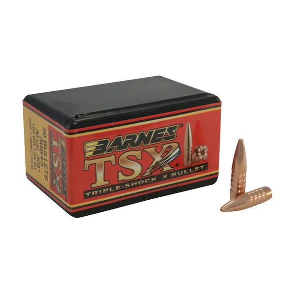 BARNES Triple-Shock X 30 Cal. 165Gr 50 Per Box Ammo (30349)