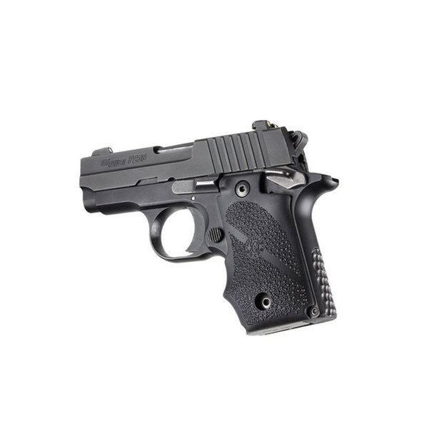 HOGUE Sig Sauer P238 Rubber Grip with Finger Grooves (38000)
