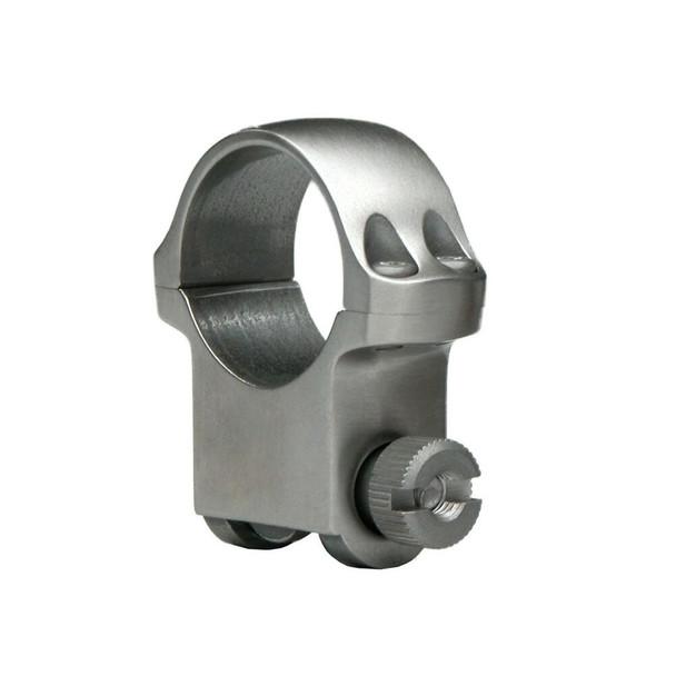 RUGER 4K30HM 30mm Medium Stainless Steel Scope Rings (90318)