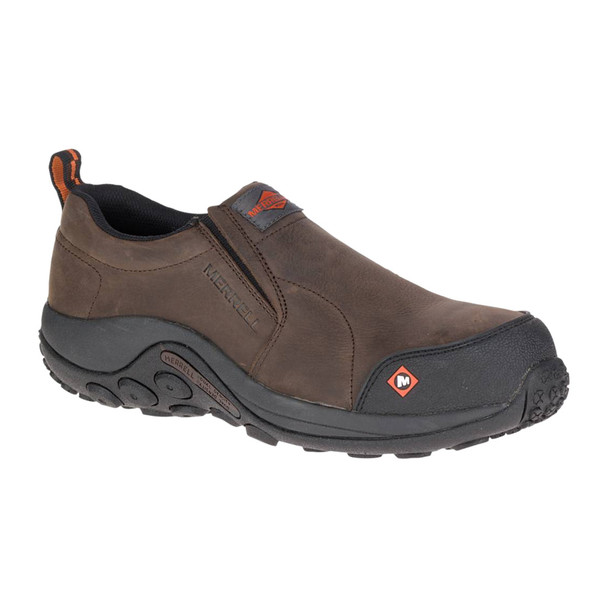 MERRELL Men's Jungle Moc Comp Toe Espresso Work Shoe