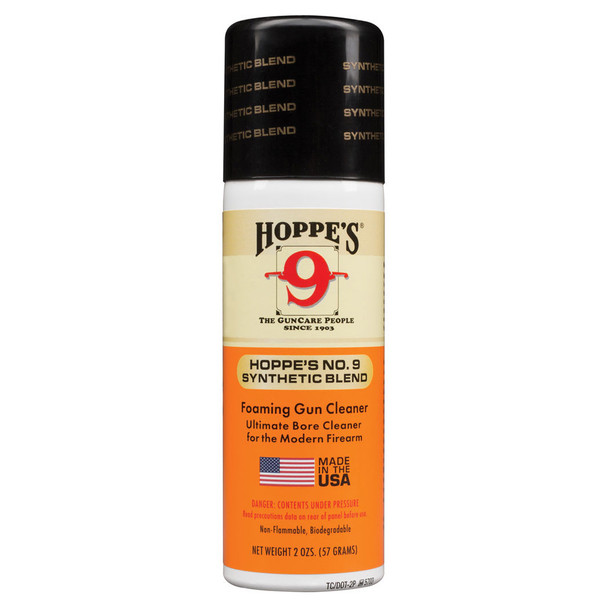 HOPPE'S No. 9 2oz Aerosol Gun Bore Cleaner (905)