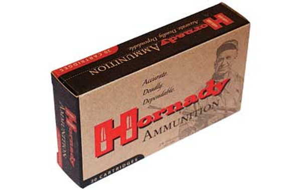 HORNADY Match 338 Lapua 250 Grain BTHP Ammo, 20 Round Box (8230)