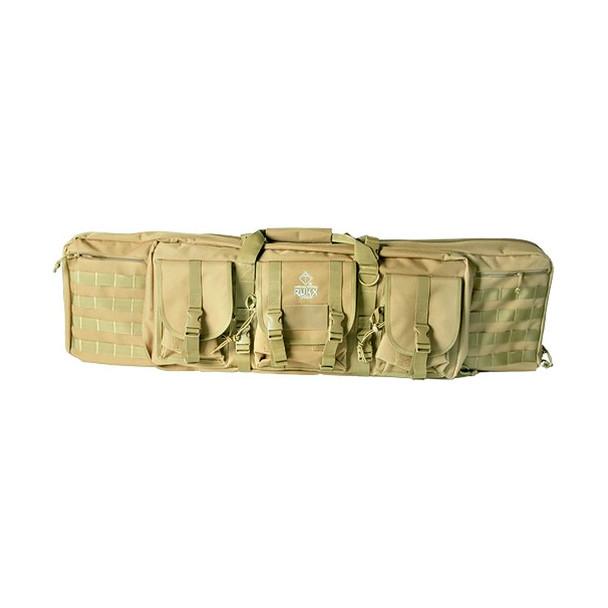 AMERICAN TACTICAL Rukx 36in Tan Tactical Double Gun Case (ATICT36DGT)