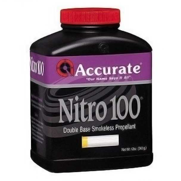 ACCURATE Nitro 100 Pistol/Shotgun 12 oz Powder (NITRO100-12OZ)