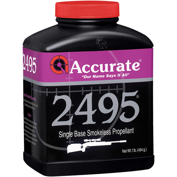 ACCURATE 2495 Single-Base 1 lb Extruded Rifle Powder (2495)