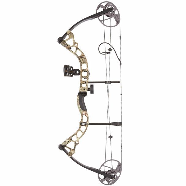DIAMOND ARCHERY Prism LH 5-55lbs Breakup Country Compound Bow (B12767)